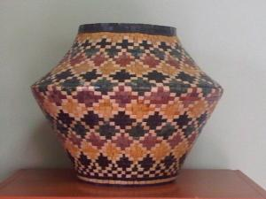 Vase Wrapped Up in Mosaic