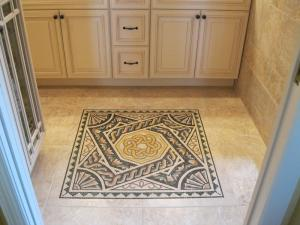 Grout Floor Kitchen Mosaic Art