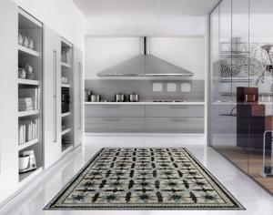 Traditional Mosaic Carpet for Your Kitchen