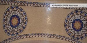 Spa Mosaic Medallion & Border