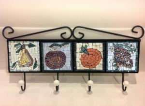 Kitchen Hanger With Mosaic Tiles