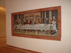 The Last Supper Mosaic Mural
