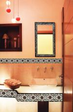 Mosaic Wall Border & Mirror Frame