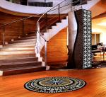 Complete Your Staircase With a Mosaic Medallion