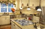 Kitchen Countertop Mosaic Inlay Perfect with the Wall Cladding